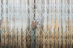 Allungamento d'acciaio della porta Fotografie Stock Libere da Diritti