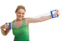 Allungamento del braccio Fotografia Stock Libera da Diritti