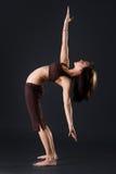 Allungamento del Gymnast Fotografia Stock Libera da Diritti