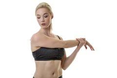 Allungamento del muscolo Immagine Stock Libera da Diritti
