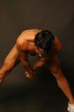 Allungamento dell'atleta 2 Fotografia Stock