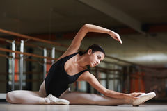 Allungamento della ginnastica Fotografia Stock