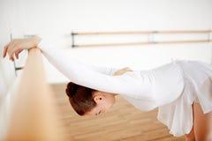 Allungamento di balletto Fotografie Stock