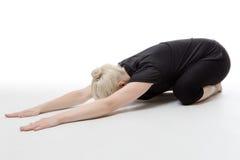 Allungamento di tutti i vostri muscoli Fotografie Stock