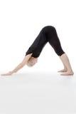 Allungamento di tutti i vostri muscoli Fotografia Stock