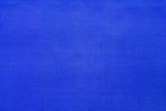 Allungamento elastico del tessuto di colore blu Fotografie Stock