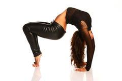 Allungamento flessibile della ragazza Fotografie Stock