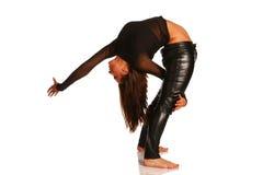 Allungamento flessibile della ragazza Fotografia Stock