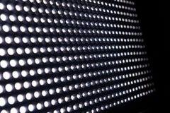 Allungamento illuminato delle luci del LED Fotografia Stock