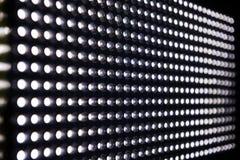 Allungamento illuminato delle luci del LED Immagine Stock Libera da Diritti