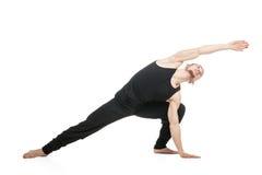 Allungamento muscolare del ballerino di balletto Fotografie Stock Libere da Diritti