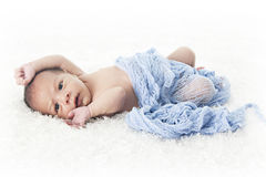 Allungamento neonato Immagine Stock Libera da Diritti