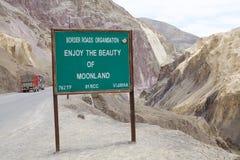 Alluni in Ladakh, India Fotografia Stock Libera da Diritti