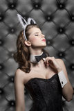 Allure easter woman Stock Images