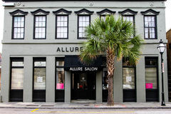 Allure Salon, King Street, South Carolina Stock Photos
