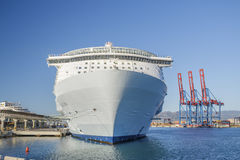 Allure of the Seas in Malaga Royalty Free Stock Photography