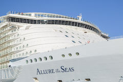 Allure of the Seas in Malaga Royalty Free Stock Photos