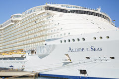 Allure of the Seas in Malaga Royalty Free Stock Images