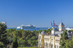 Allure of the Seas in Malaga Stock Photo