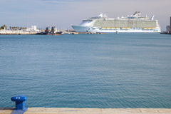 Allure of the Seas in Malaga Royalty Free Stock Image