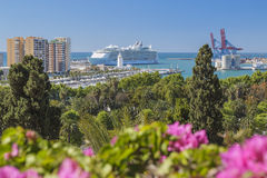 Allure of the Seas in Malaga Stock Photography