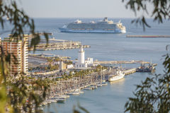 Allure of the Seas in Malaga Royalty Free Stock Photo