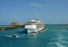 Allure of the Seas in Nassau Royalty Free Stock Photography