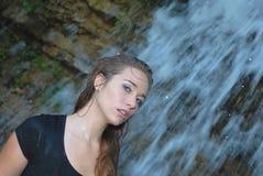 alluring женщина Стоковая Фотография