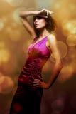 Alluring женщина Стоковое фото RF