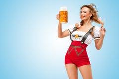 Alluring пиво Стоковые Изображения RF