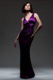 alluring платье выравнивая сексуальную женщину Стоковые Изображения