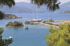 Alluring среднеземноморские острова Стоковое Изображение RF