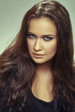 Alluring beautiful woman Stock Photos