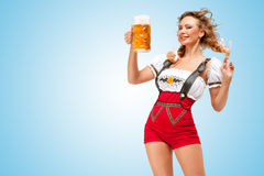 Alluring beer. Royalty Free Stock Images