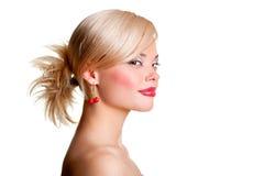 Alluring blonde Stock Photos