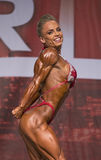 Alluring and Buff Pro Fitness Winner Royalty Free Stock Images