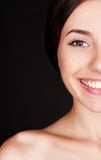 Alluring happy woman Royalty Free Stock Photos