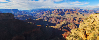 Alluring landscape of rock formation in the Grand Canyon Royalty Free Stock Images