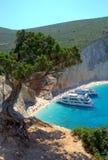 Alluring Porto Katsiki beach,Greece Stock Images