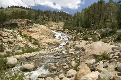 Alluvial Fan Royalty Free Stock Photos