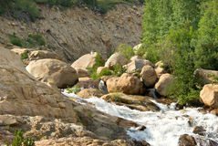 Alluvial Fan Royalty Free Stock Images