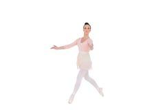 Allvarlig ballerinadans arkivfoto