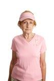 allvarlig bröstcancer Arkivfoton