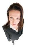 allvarlig kvinna för affär Royaltyfri Foto