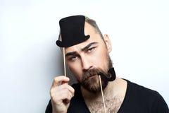 Allvarlig mansinnesrörelse fotografering för bildbyråer
