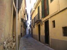 ally Barcelona Zdjęcie Stock