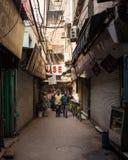 Allyways a Delhi centrale Fotografie Stock Libere da Diritti