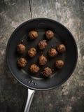Almôndegas do vegetariano Imagem de Stock