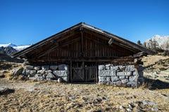 Alm alpino Fotografia Stock