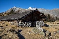 Alm alpino Fotografia Stock Libera da Diritti